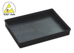 ESD Safe Conductive Tray P/N: ITESD-1613