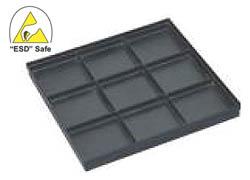 ESD Safe Conductive Tray P/N: ESD-TR-9
