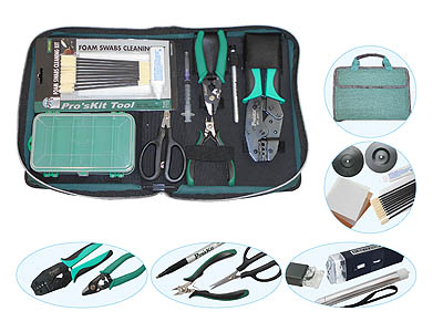 High Quality Fiber Optic Field Toolkit Model FIBRETK-3915
