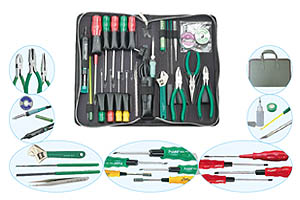 Electronics Maintenance & Field Repair Handy Toolkit Model ITK-MIDI-1604
