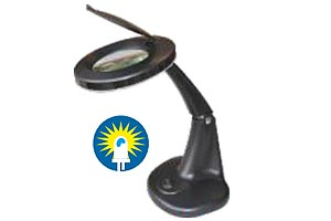 Portable and light weight magnifying lamp Model IM-2012LED