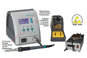 Ultra-Fast Thermal Recovery 120 Watt Model DSSLF120 Soldering Station