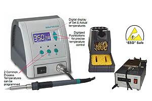 Ultra-Fast Thermal Recovery 120 Watt Model DSSLF120 Soldering Station