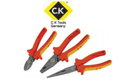 CK Tools 3 PCS RedLine VDE Pliers Set CK P/N: T3805