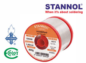 STANNOL® Leaded Solder Wire Sn60Pb40