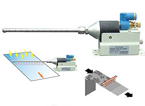 Low Voltage Nozzle type Static Charge Eliminator