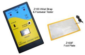 Wrist Strap and Footwear Tester Model: Z103