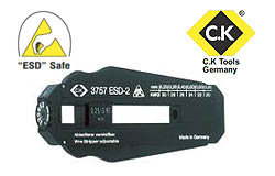 ESD Safe Precision Wire Stripper CK Tools P/N: T3757ESD 2