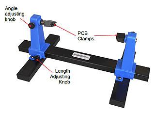 Adjustable Printed Circuit Board Holder P/N: IPCBH200ESD