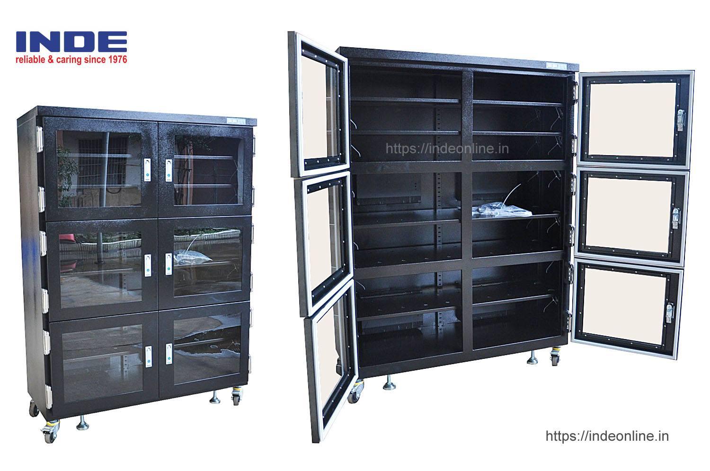 Dry Cabinet IDSC1280-6D-50RH with 4 Desiccators