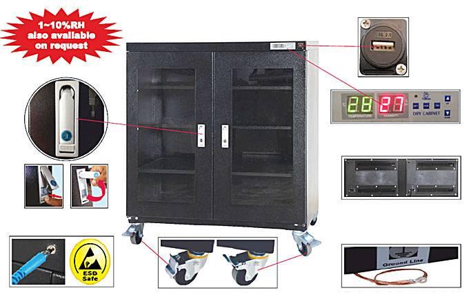 Dry Storage Cabinet IDSC-560-2D-50RH