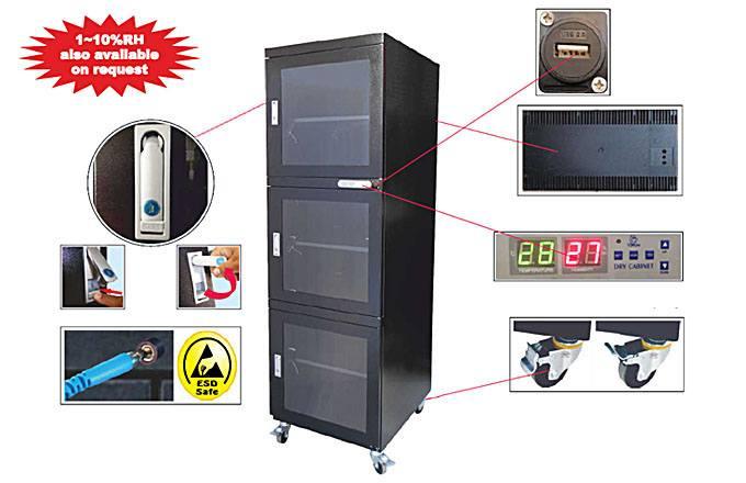Dry Storage Cabinet IDSC-710-3D-50RH