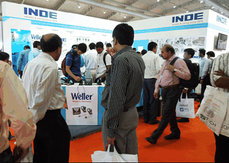 INDE Enterprises participating in Electronica India Fair