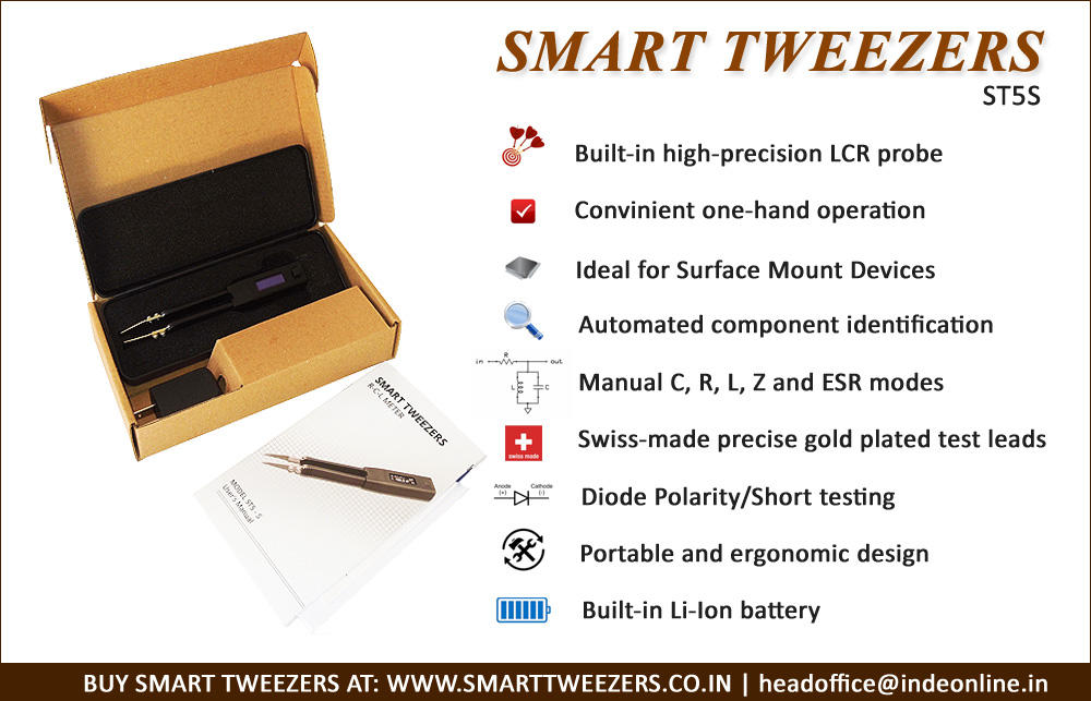 Smart Tweezers ST-5S Features and Specifications