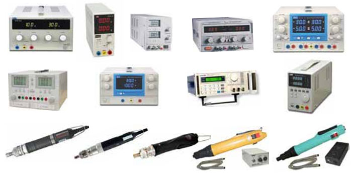 DC Power Supplies and Electric Screwdrivers for Sale